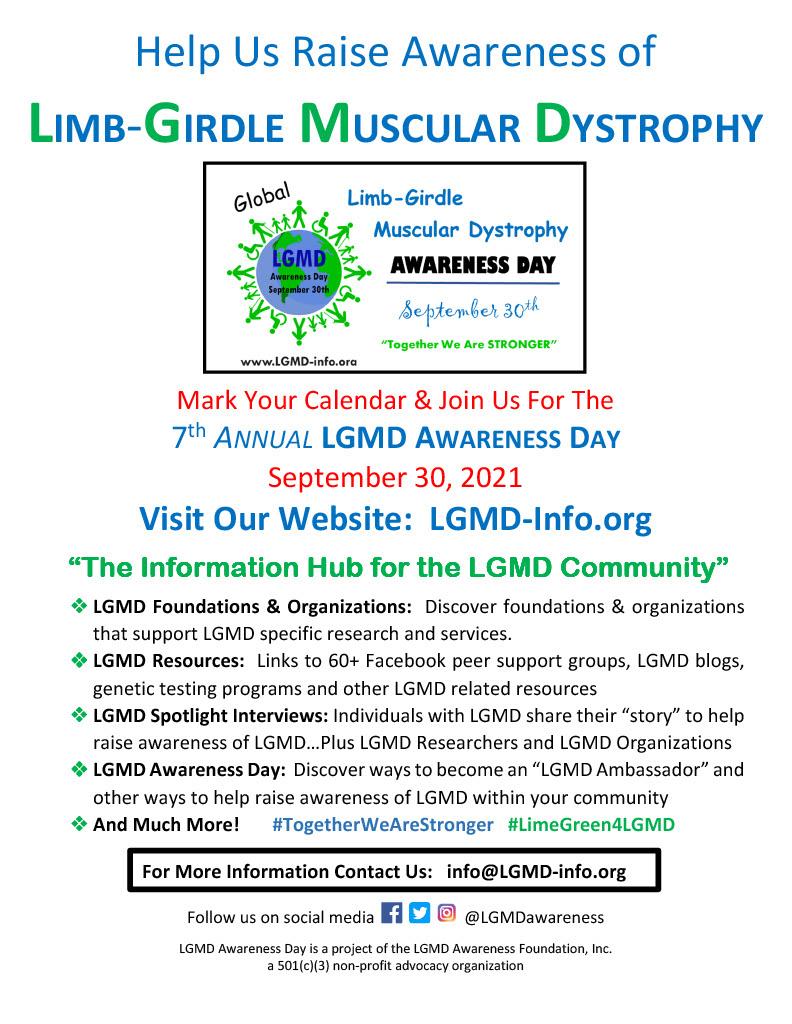 Raising Awareness of LGMD